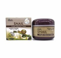 КРЕМ ДЛЯ ЛИЦА С ЭКСТРАКТОМ МУЦИНА УЛИТКИ, EKEL AMPLE INTENSIVE SNAIL CREAM 85 ml