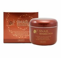КРЕМ ДЛЯ ЛИЦА С МУЦИНОМ УЛИТКИ JIGOTT SNAIL REPAIRING CREAM 85 ml