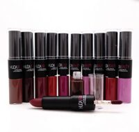 БЛЕСК + ПОМАДА HUDA BEAUTY LIQUID MATTE 2 IN 1 - 12 ШТУК